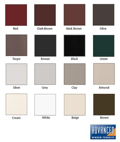 Vinyl Window Frame Colors on Exterior House Paint Colors With Brick