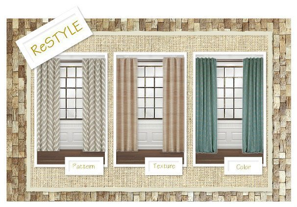 Restyle Your Window Coverings