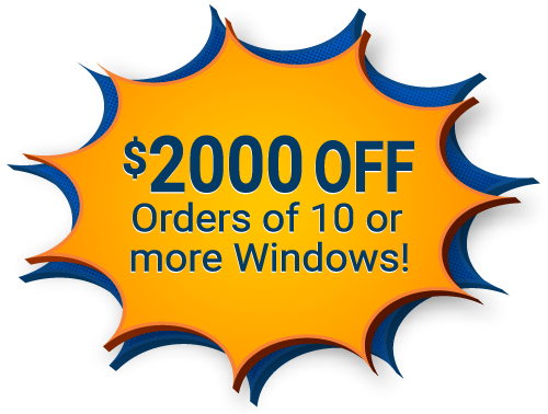 $220 Offer from Advanced Window Products - $220 Off each Window when you buy 10 or more windows
