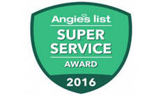 Angies List Service Award 2016