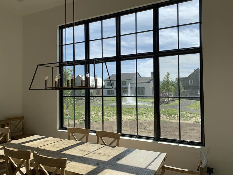 Legacy Series Energy Efficient Black Windows in Utah- Advanced Window Products