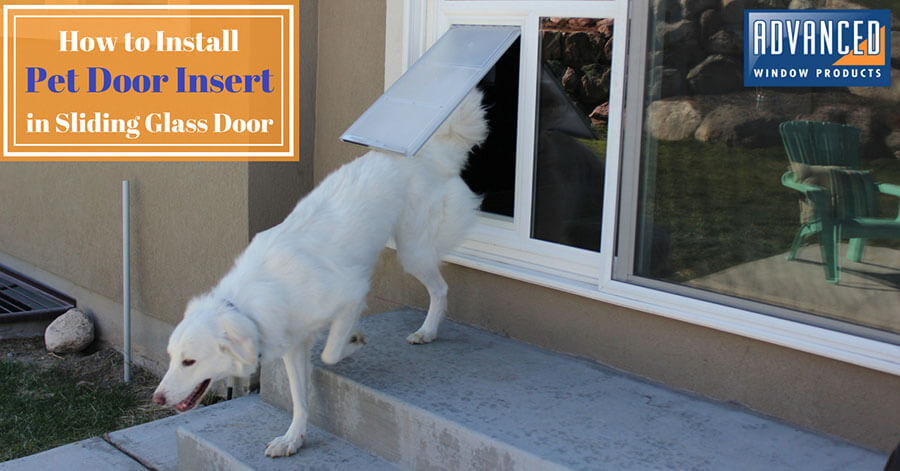Install Pet Door - DIY Doggy Door by Pet Door Products