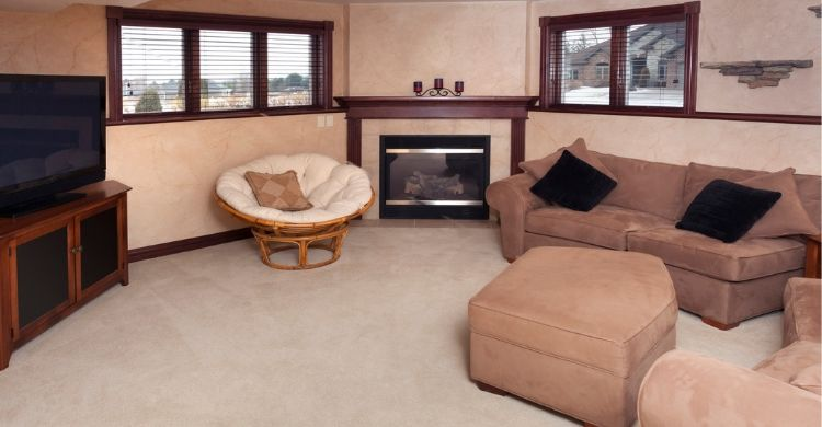 Comfy Basement with 2 windows - Advanced Window Products - Replacement Basement Windows