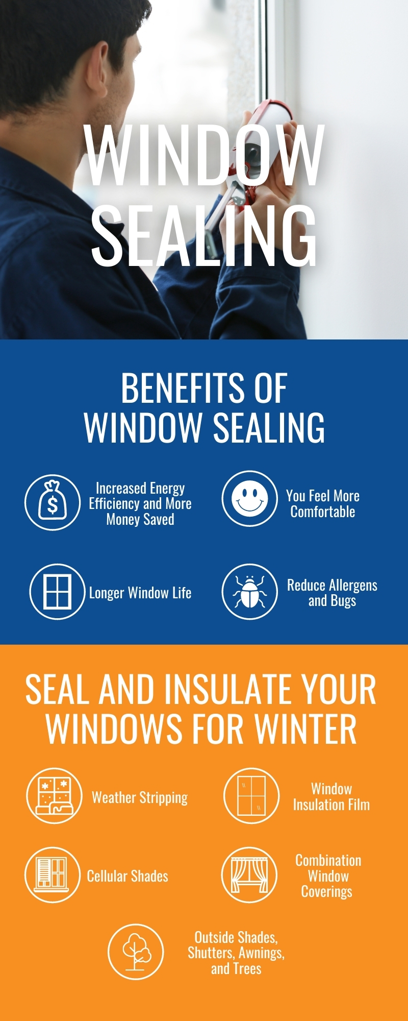 Benefits and Tips to Seal and Insulate Your Windows for Winter