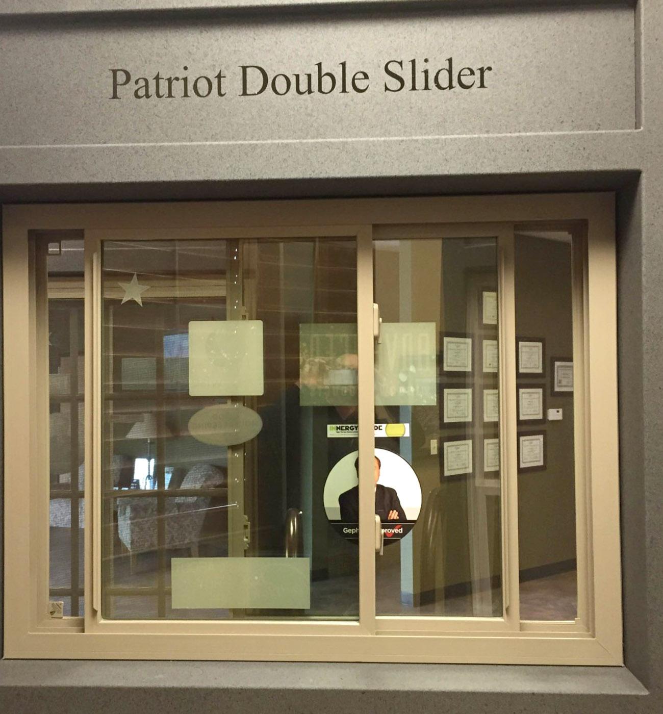 Double Slider Window Display - Advanced Window Products