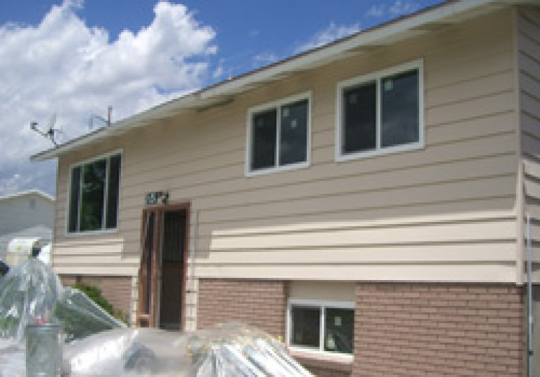 New Siding and Replacement Windows