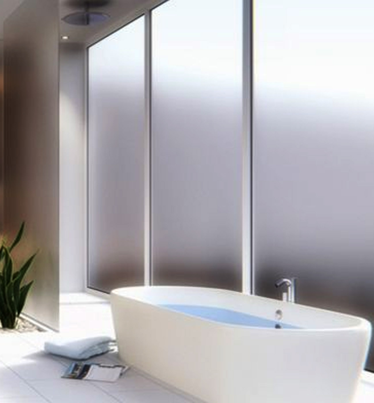 Privacy Windows in Bathroom - Advanced Window Products